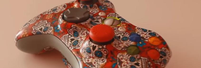 personalizar el mando de la Xbox 360 por hidroimpresión ~ Special Paint