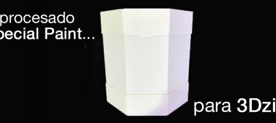 post-procesado de impresión 3D para 3Dzings - Special Paint