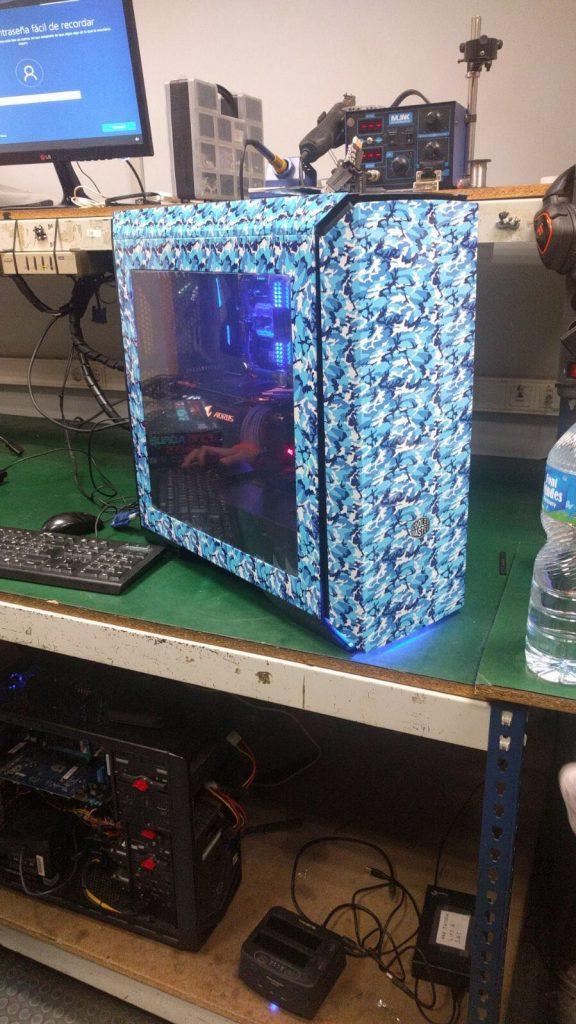 Hidroimpresión para Barcelona Cooler Master