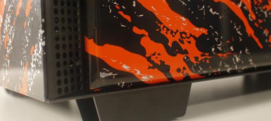 hidroimpresion de ordenador para Life Informática Barcelona - Special Paint