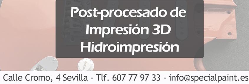 promoción de acabado de impresión 3D - Special Paint
