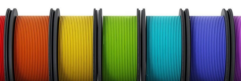 filamentos en impresión 3D